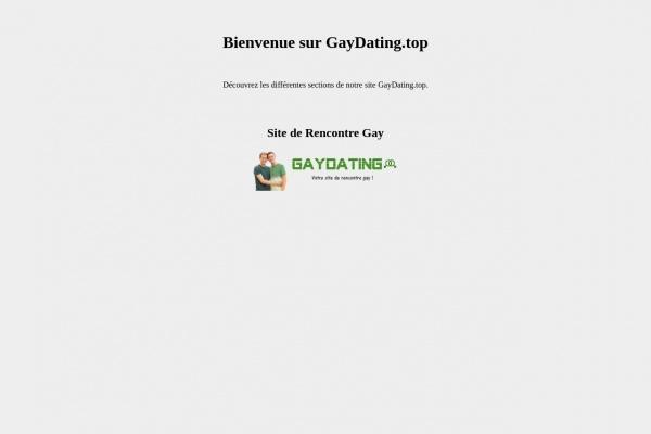 Gaydating.top : Meilleur site de rencontre des gays