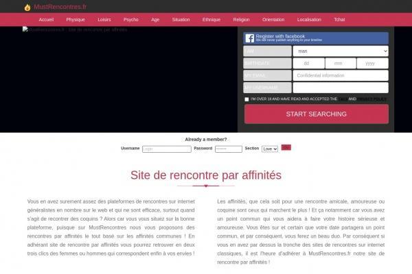Des femmes affinitaires à rencontrer sur Go.Mustrencontres.fr