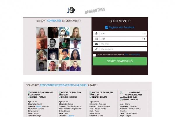 Rencontre affinité sur Artistes.Rencontre-Sur-Internet.info