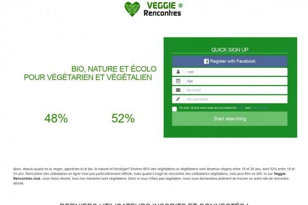 Veggie-Rencontres.club le service de rencontre végétarien