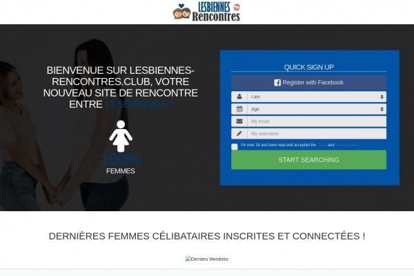 Lesbiennes-Rencontres.club : Site de Rencontres lesbiens