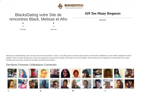 Blacksdating.date - Présentation et avis