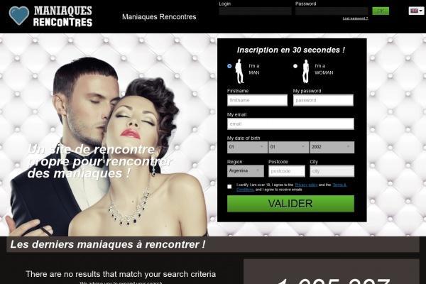 Une Rencontre célibataire bizarre sur Maniaque.Wekiss.net