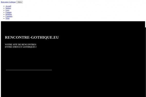 Faire une rencontre underground - Rencontre-Gothique.eu