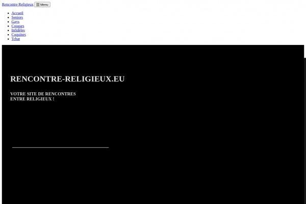 Site de rencontre homme religion