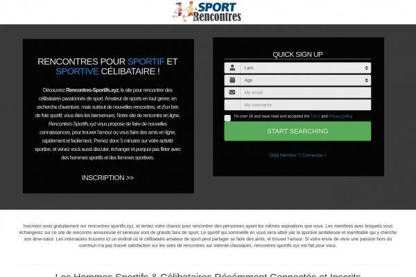 Rencontres-Sportifs.xyz : Site de Rencontre sportive