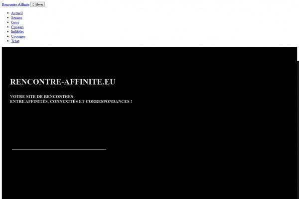 Rencontre-Affinite.eu le service de rencontres affinitaire