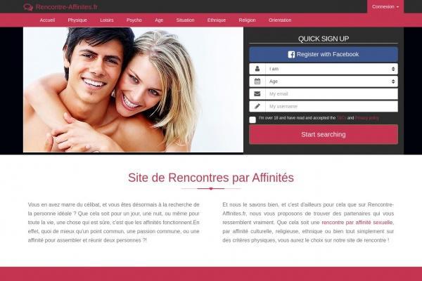 Test de Rencontre-Affinites.fr